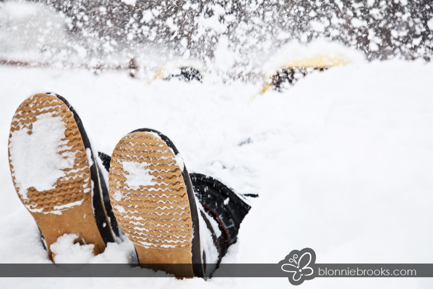 February Snow in Delaware