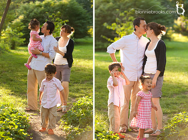 Family Pictures In Gibraltar Gardens Delaware East Coast