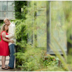 Longwood Gardens Engagement Session with Leslie & David