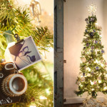 Instagram Picture Garland Christmas Tree Craft