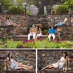 Family Pictures in Longwood Gardens, Pennsylvania
